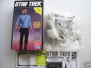 Star Trek Doctor Leonard McCoy Model Kit RARE